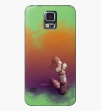 Earth Worm Jim making his big escape Case/Skin for Samsung Galaxy