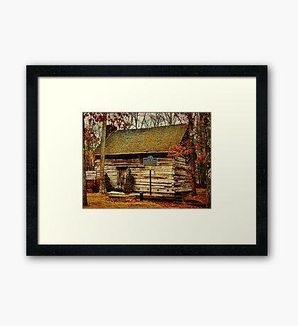 Forestburgh NY Primitive Cabin Framed Print