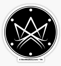 Nietzsche King Sigil Sticker