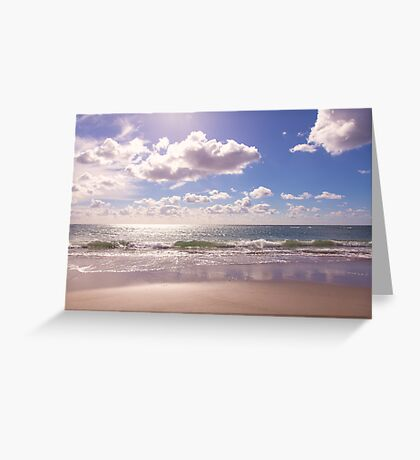 St. Ouen's Beach, Jersey *3* Greeting Card