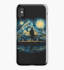 Starry Fall (Sherlock) iPhone Case