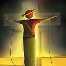 Homem na Cruz. by Marcel Caram