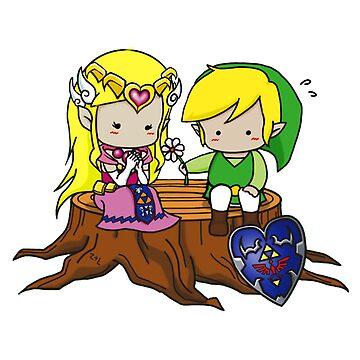 Zelda Link Love by RemiBeng