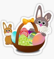 Easter Basket Sticker