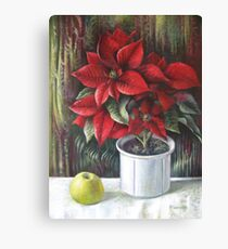 Christmas colors  Canvas Print