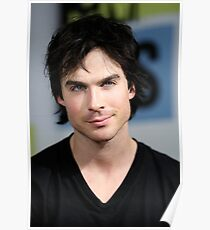 Ian Somerhalder The Vampire Diaries  Poster