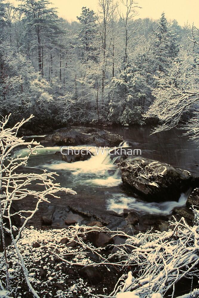 GREENBRIER,WINTER by Chuck Wickham