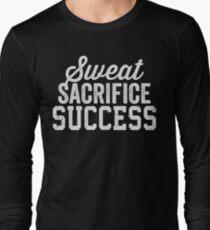 Sweat Sacrifice Success (White) T-Shirt
