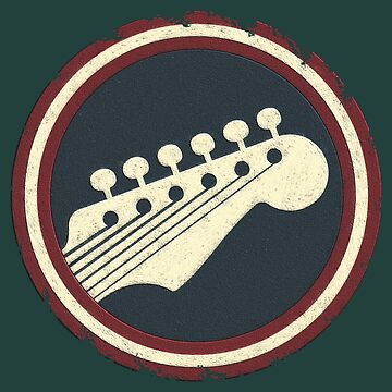 Very Old Electric Guitar Sign by adlirman