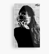lens Metal Print