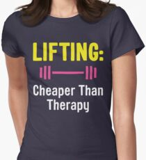 Lifting - Cheaper Than Therapy T-Shirt