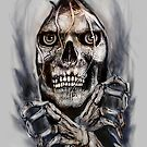 SKULL BREAKING OUT ! by Ray Jackson