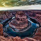 Horshoe Bend Arizona by Robbie Knight