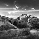 Monochrome Bridge by axemangraphics