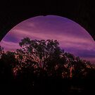 Sunset Bridge by axemangraphics