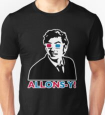 Allons-y! in black T-Shirt