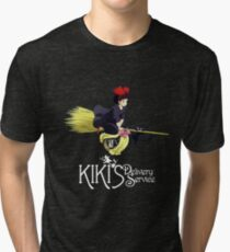 Kiki's Delivery Service-Studio Ghibli Tri-blend T-Shirt