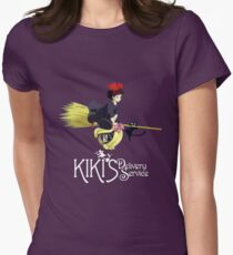 Kiki's Delivery Service-Studio Ghibli Womens Fitted T-Shirt