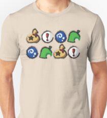Distressed Animal Crossing Items 2  Unisex T-Shirt