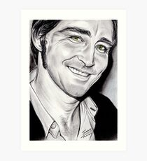 Lee PACE, irresistible smile Art Print