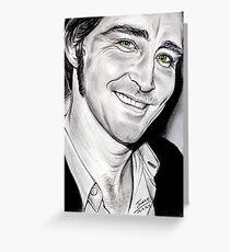 Lee PACE, irresistible smile Greeting Card