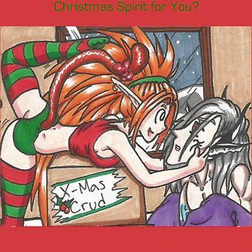 Christmas Spirit by FreakInkComics