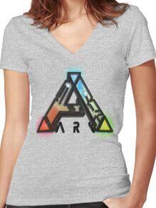 Ark - Survival Evolved  Women's Fitted V-Neck T-Shirt