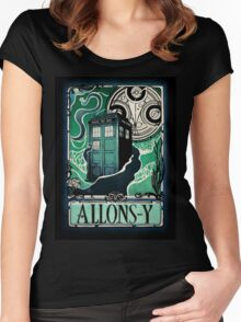 Dr. Who Nouveau Women's Fitted Scoop T-Shirt