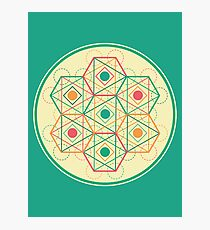 Circle, Square, Triangle Photographic Print