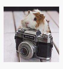 Guinea photographer Photographic Print