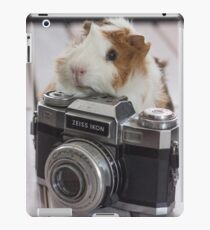 Guinea photographer iPad Case/Skin