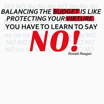 Ronald Reagan Budget by klentz