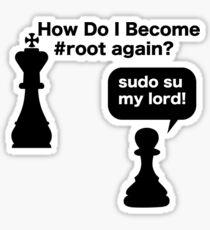 My Lord Sticker