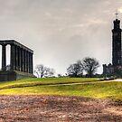 Columns and Spyglass by Tom Gomez
