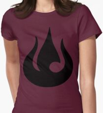 Fire Nation Royal Banner Women's Fitted T-Shirt