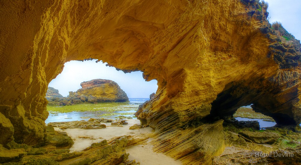 Two Arches. by Bette Devine