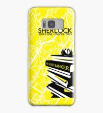 Sherlock - The Blind Banker Episode Poster Samsung Galaxy Case/Skin