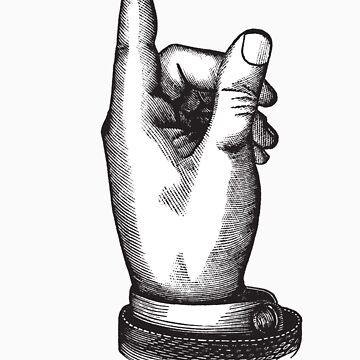hand finger up by svatopluc