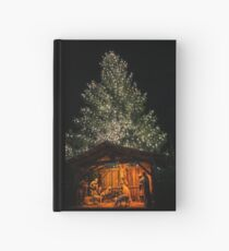 Nativity and Tree Hardcover Journal