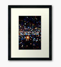 Dotted light Framed Print