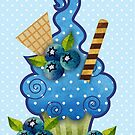 Blueberry Cupcake by prettycritters