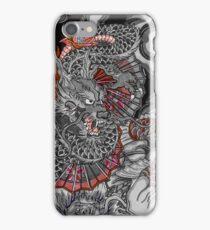 Dragon and koi fish iPhone Case/Skin