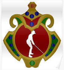 Mauritius Golfing Poster