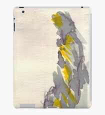 Yellow to Grey iPad Case/Skin