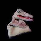 Alligator Puppet by Barbara Morrison