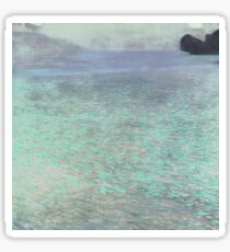 Klimt at Attersee Sticker
