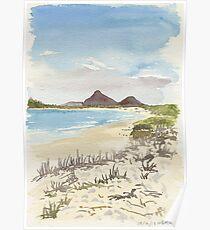 Jimmys Beach, Hawks Nest Poster