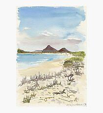 Jimmys Beach, Hawks Nest Photographic Print