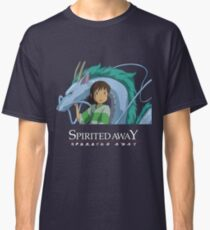 Spirited Away Chihiro and Haku-Studio Ghibli Classic T-Shirt