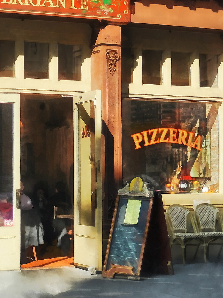 South Street Seaport Pizzeria by Susan Savad
